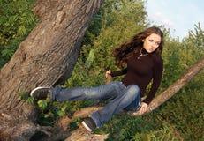 Schöne Jugendliche Stockfoto