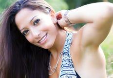Schöne junge arabische Frau Stockbild