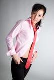 Schöne junge asiatische Frau Lizenzfreies Stockbild