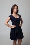 Schöne junge asiatische Frau Stockfotografie