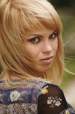 Schöne junge Blondine Stockbilder