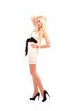 Schöne junge Blondine Lizenzfreie Stockbilder