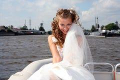 Schöne junge Braut Stockfoto