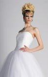 Schöne junge Braut Stockbild