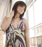 Schöne junge Dame lizenzfreie stockfotografie