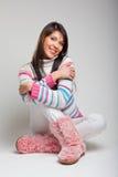 Schöne junge Frau Lizenzfreie Stockfotografie