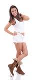 Schöne junge Frau lizenzfreie stockbilder