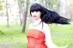 Schöne junge Frau Lizenzfreie Stockfotos