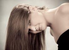 Schöne junge Frau Stockfotos