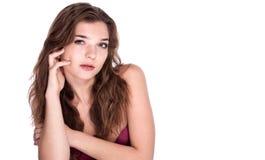 Schöne junge Frauen Stockbild