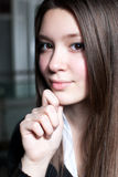 Schöne junge Frauen Stockbilder