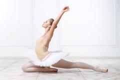 Schöne junge Frauen-Ballerina Stockfotografie