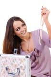 Schöne junge Frauen mit Schmucksachen Stockbilder