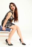Schöne junge indische Dame Stockbilder