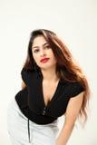 Schöne junge indische Dame Lizenzfreie Stockfotografie