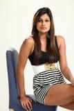 Schöne junge indische Dame Stockfoto
