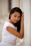Schöne junge Kazakhfrau Lizenzfreie Stockbilder