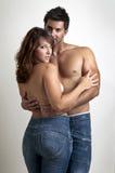 Schöne junge Paare Stockfotos