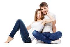 Schöne junge Paare Lizenzfreies Stockbild