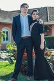 Schöne junge Paare Stockbild