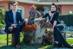 Schöne junge Paare Lizenzfreie Stockfotos