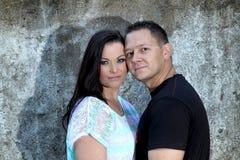 Schöne junge Paare in der Liebe Stockfotografie