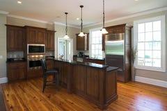 Schöne Küche Stockbild