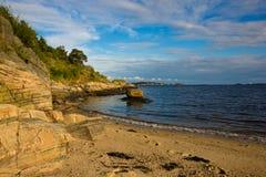 Schöne Küste Lizenzfreies Stockbild