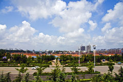 Schöne Küste Chinas Shandong Lizenzfreie Stockfotos