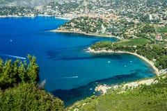 Schöne Küste im Cassis Lizenzfreies Stockfoto