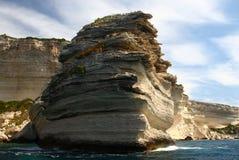 Schöne Küste von Korsika Lizenzfreie Stockfotografie