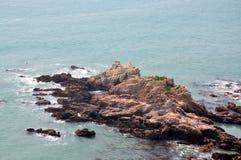 Schöne Küste-Zeile Lizenzfreie Stockfotografie