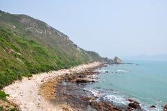 Schöne Küste-Zeile lizenzfreie stockfotos