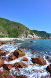 Schöne Küstelandschaft lizenzfreies stockbild