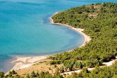 Schöne Küstenlandschaft Stockbilder