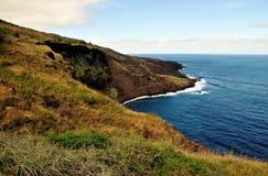 Schöne Küstenlinie Lizenzfreie Stockbilder