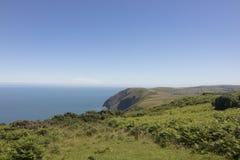 Schöne Küstenlinie von Nord-Devon England Lizenzfreies Stockbild