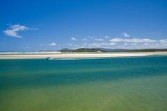 Schöne Küstenszene Stockbild