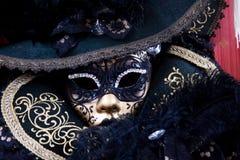 Schöne Karnevalsschablone von Venedig Lizenzfreie Stockbilder