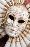Schöne Karnevalsschablone von Venedig Stockfotos