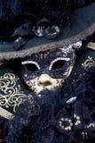 Schöne Karnevalsschablone von Venedig Stockbilder