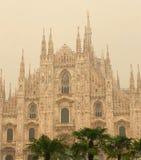 Schöne Kathedrale Mailands Italien atemberaubend stockbilder
