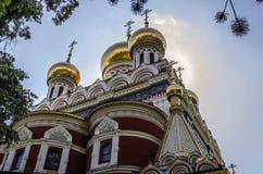 Schöne Kirche Lizenzfreies Stockfoto