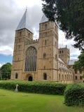 Schöne Kirche in Gloucestershire Stockfotografie