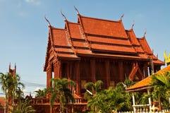 Schöne Kirche verziert von der Terrakotta Stockbild