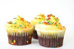 Schöne kleine Kuchen stockfotos