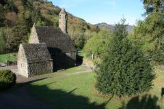Schöne kleine landwirtschaftliche Kirche Stockfotos