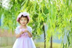 Schöne kleine Prinzessin Stockbild