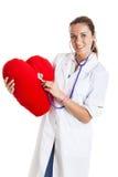 Schöne Krankenschwester Lizenzfreie Stockbilder