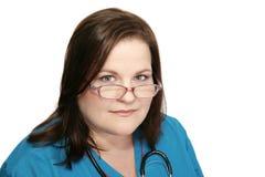 Schöne Krankenschwester Stockfotos